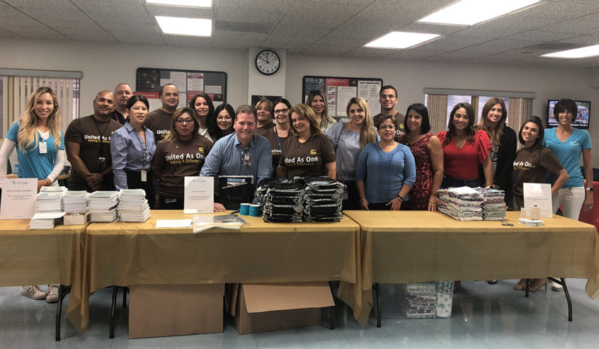 UPS Packing event