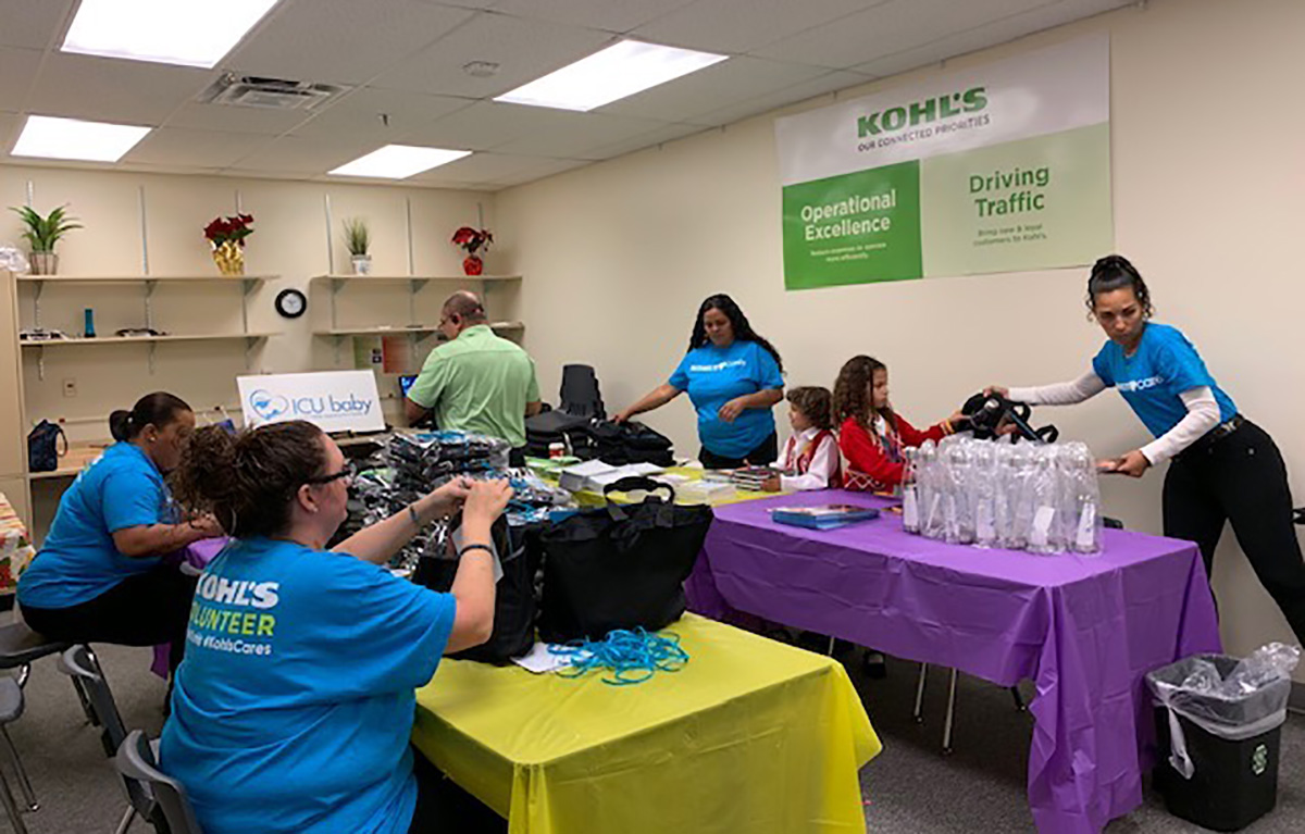 KOHL'S Cares Event