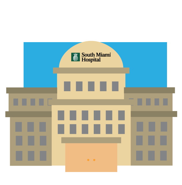 Baptist South Miami Hospital - ICU baby