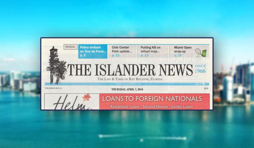 The Islander News banner