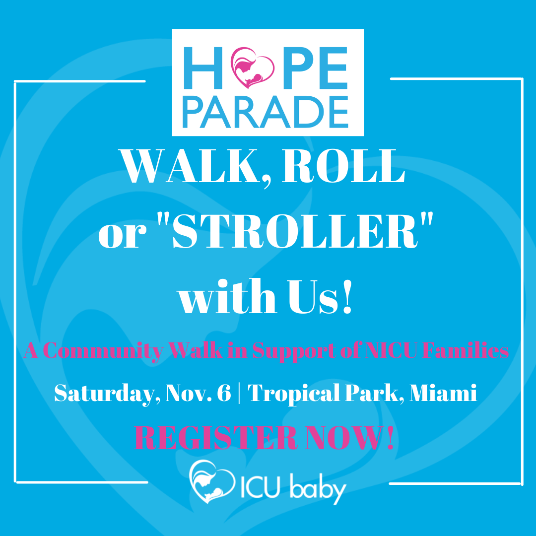 HOPE Parade. Walk, Roll, or Stroller with us! Register now!